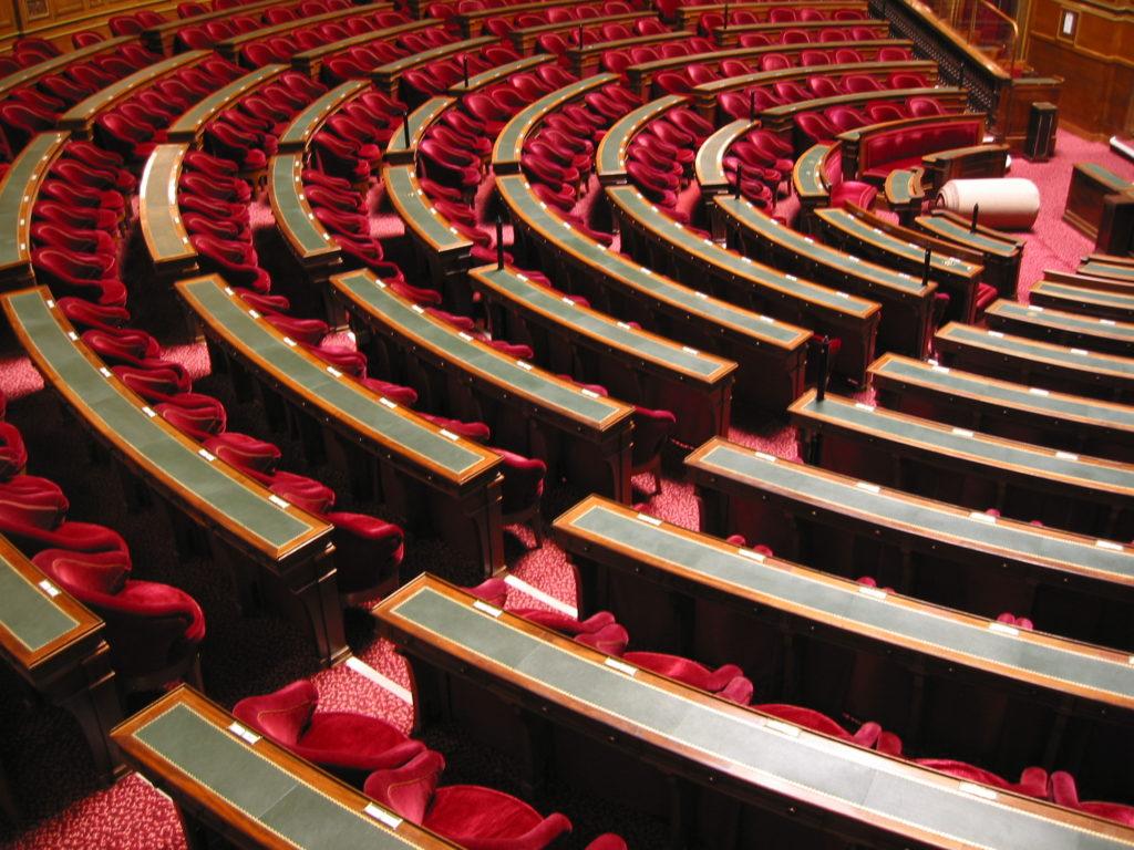 French Senate Stairways, Paris