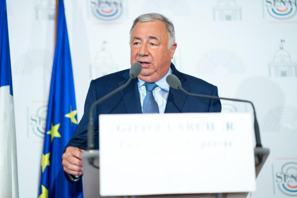 Gérard Larcher 6 sept 2018