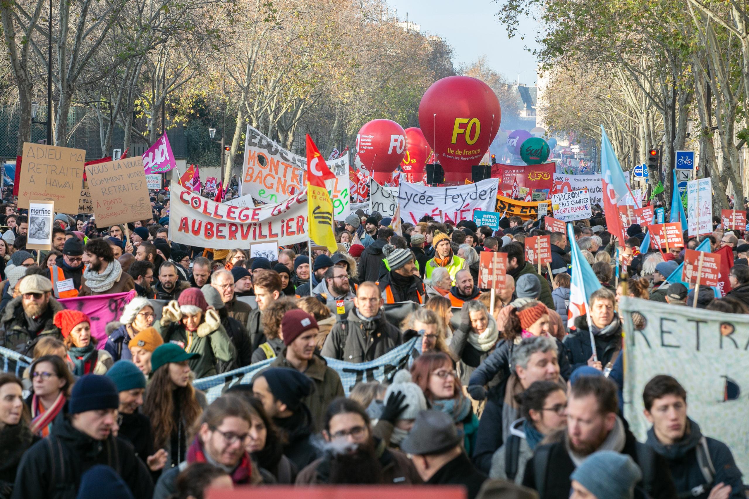 Syndicalisme Manifestation