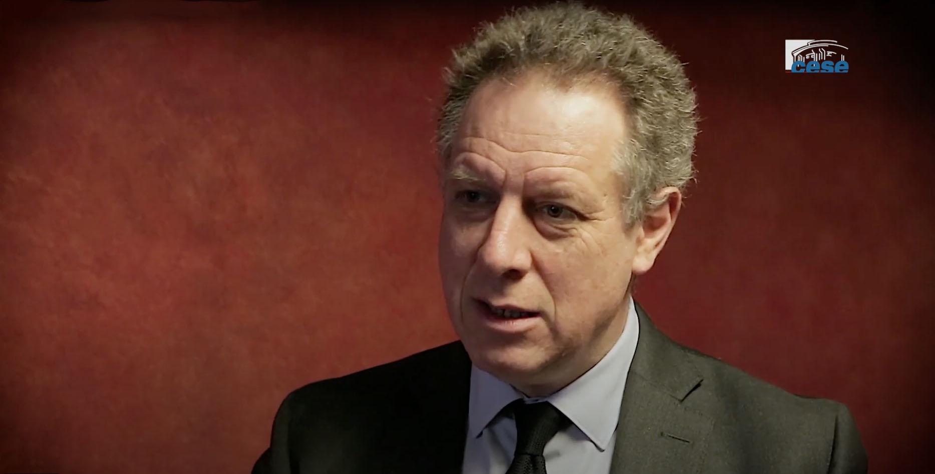 Nicolas Revel s'exprime au CESE - capture d'écran